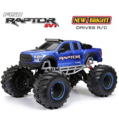 Автомобиль на р/у 1:8 Ford Raptor 4х4 New Bright