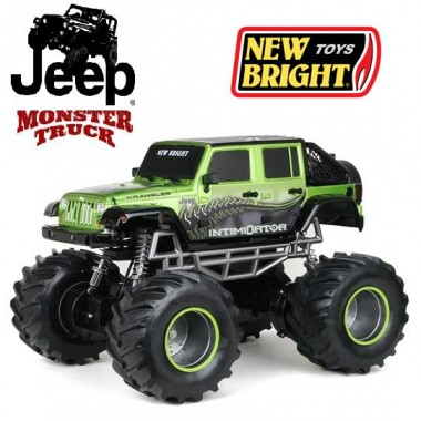 Автомобиль на р/у 1:8 New Bright Jeep Wrangler Intimidator 4x4 Monster Truck