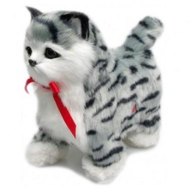 Интерактивный котёнок который ходит Norimpex Полосатик