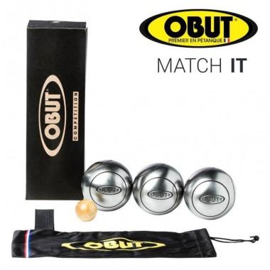 Набор для игры в петанк профессиональный OBUT Match IT