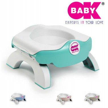 Детский горшок накладка на унитаз Ok baby Roady 3 в 1