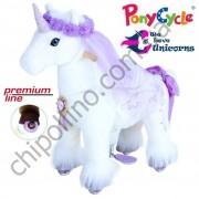 Поницикл PonyCycle Unicorn Purple Единорог (малый) с подсветкой колес