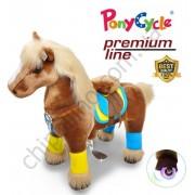 Поницикл PonyCycle Brown (средний) с подсветкой колес