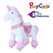 Поницикл PonyCycle Unicorn Единорог Розовый (малый)