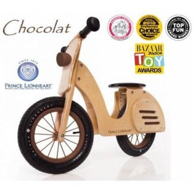 Деревянный беговел Prince Lionheart Whirl balance Scooter Chocolat