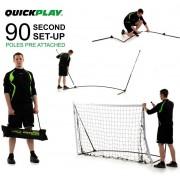 Футбольные ворота Quickplay Kickster Academy 1,8х1,2м