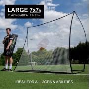 Тренажер футбольный Quickplay Spot Rebounder 2,1 x 2,1 м