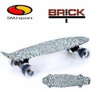 """Скейтборд SMJ Sport Fishka 22"""" BRICK"""