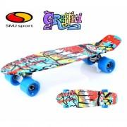 """Скейтборд SMJ Sport Fishka 22"""" GRAFFITI"""