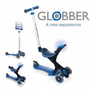 Самокат беговел Globber Evo 5 в 1 Comfort Play Blue