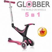 Самокат-беговел Globber My Free Seat Deep Pink 5 в 1
