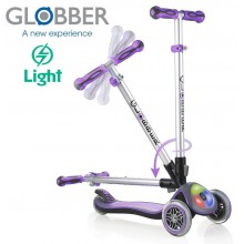 Самокат Globber Elite F My Free Fold up Lights 448