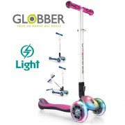 Самокат Globber My Free Fold Up Lights 449