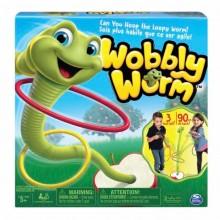 Игра Танцующий червячок Wobbly Worm Spin Master 34289