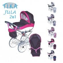 Коляска для куклы Tika Jula 2в1
