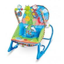 Детское кресло-качалка шезлонг с вибрацией Rocker