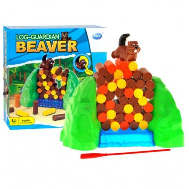 Настольная игра Бобровая плотина Log Guardian Beaver Game