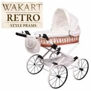 Ретро-коляска для кукол Wakart Monika Retro