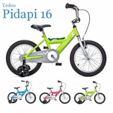 """Велосипед Yedoo Pidapi 16"""" Steel"""