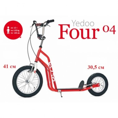 Самокат YEDOO Four 04 (Basic Line) 12+