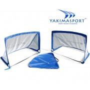 Футбольные ворота Yakimasport POP-UP goal прямоугольные 2 шт
