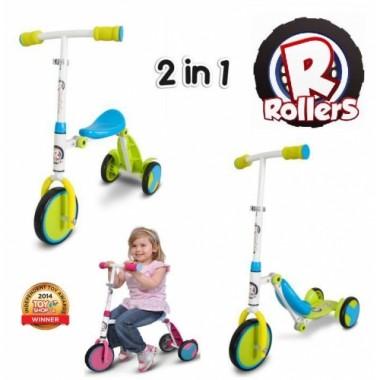 Беговел - самокат 2в1 Zinc Rollers R1