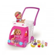 Тележка Fisher Price Little Mommy 86047