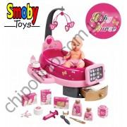 Центр Baby Nurse Smoby по уходу за куклой с пупсом и аксессуарами (220317)