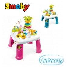 Интерактивный развивающий игровой стол Cotoons Smoby